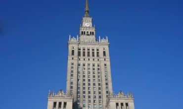 Palace of Culture and science, centre of Warsaw, capital of Poland.