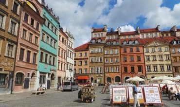 Old Town in Warsaw. Every foreigner should see that city, most affordable country to travel.