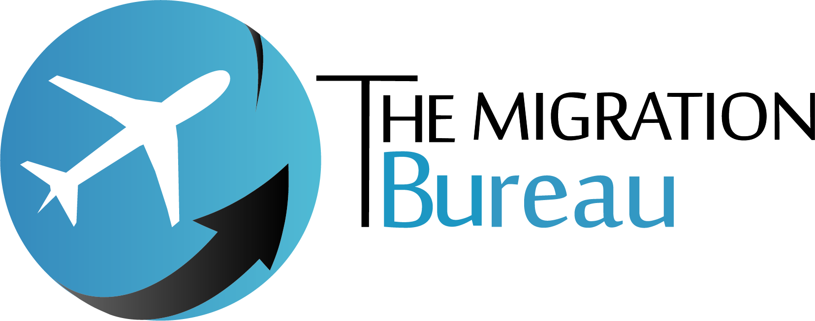 Logo of our company, The Migration Bureau. We are helping with company formation in Poland and immigration services.