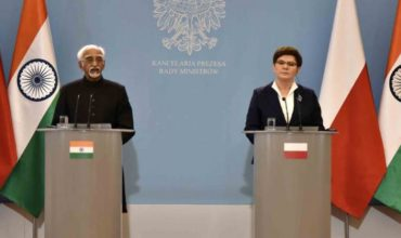 Meeting of two leaders to discuss about Polish - Indian matters.