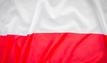 Polish flag, a symbol of independence, anniversary of regaining independence.
