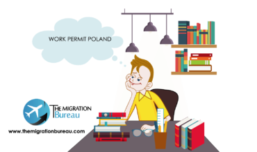 Young man considering idea of relocating to Poland and starting to work here. New possibilities, temporary residence permit.