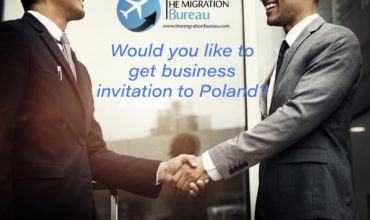 People from differend countries can start cooperation in Poland and get business invitation.