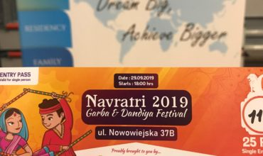 The event show traditional Indian dances associated with the Navratri festival and a better understanding of Indian culture.
