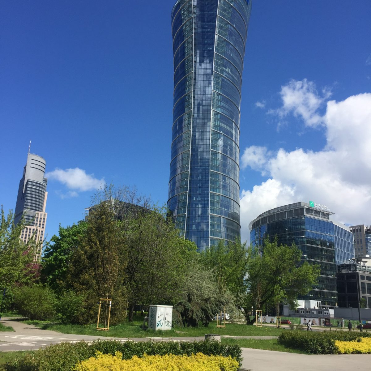 City of Warsaw, capital of Poland. A place of visit for many foreigners for both business and tourist purposes