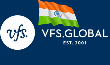 Migrate to Poland. VFS page logo and flag of the India. VFS is The largest website dealing with issues related to passports, visas and services for citizens of different countries.
